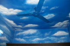 CLOUD-ART-ON-CEILING