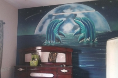 DOLPHIN-WALL-MURAL-PAINTING