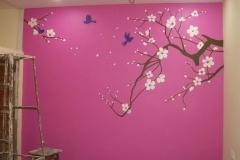 FLOWER-ART-MASTERBEDROOM