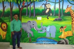 FOREST-ANIMALS-WALL-ART-FOR-COMERCIAL-PARKS