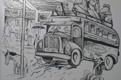 MALGUDI-DAYES-WALLPAINTINGS-INHOTELS