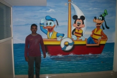 MICKEY-MOUSE-DONALD-DUCK-ON-BOAT