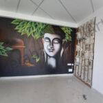 Embossing Mural art work